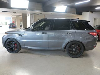 2017 Land Rover Range Rover Sport L494 17MY SDV8 HSE Dynamic Corris Grey 8 Speed Sports Automatic