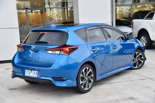 2017 Toyota Corolla ZRE182R ZR S-CVT Blue 7 Speed Constant Variable Hatchback.