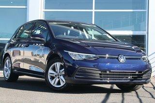 2021 Volkswagen Golf 8 MY21 110TSI Atlantic Blue 8 Speed Sports Automatic Hatchback.