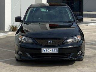 2008 Subaru Impreza G3 MY09 RS AWD Black 4 Speed Sports Automatic Sedan.