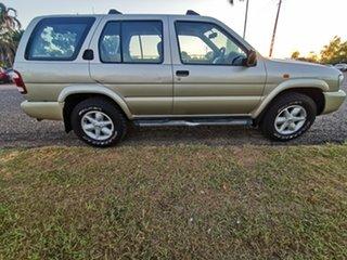 2003 Nissan Pathfinder WX II MY2003 ST Gold 4 Speed Automatic Wagon.