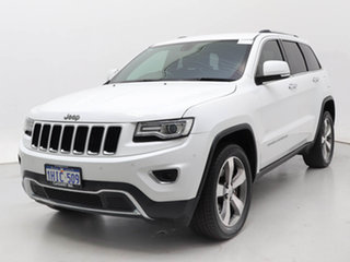 2014 Jeep Grand Cherokee WK MY14 Limited (4x4) White 8 Speed Automatic Wagon.