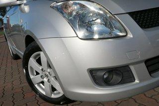 2008 Suzuki Swift RS415 S Silver 4 Speed Automatic Hatchback.