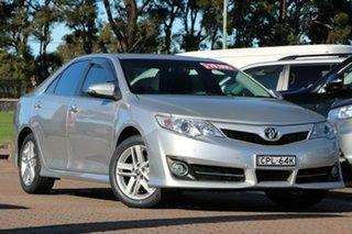 2013 Toyota Camry ASV50R Atara SL Silver Metallic 6 Speed Sports Automatic Sedan.