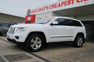 2012 Jeep Grand Cherokee WK MY13 Laredo (4x4) White 5 Speed Automatic Wagon.