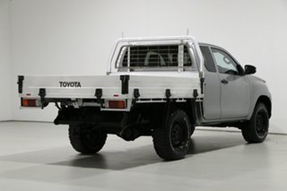 2016 Toyota Hilux GUN125R Workmate (4x4) Grey 6 Speed Manual X Cab Cab Chassis