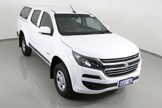 2017 Holden Colorado RG MY17 LS (4x2) White 6 Speed Automatic Crew Cab Pickup