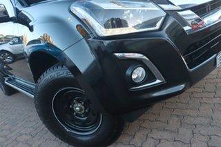 2017 Isuzu D-MAX MY17 LS-U Crew Cab 4x2 High Ride Cosmic Black 6 Speed Sports Automatic Utility.