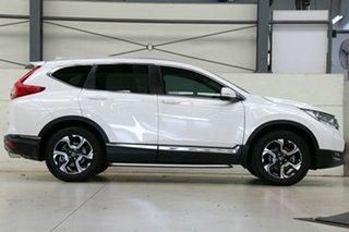 2018 Honda CR-V RW MY19 VTi-LX 4WD Platinum White 1 Speed Constant Variable Wagon