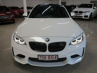 2018 BMW M2 F87 LCI D-CT White 7 Speed Sports Automatic Dual Clutch Coupe.