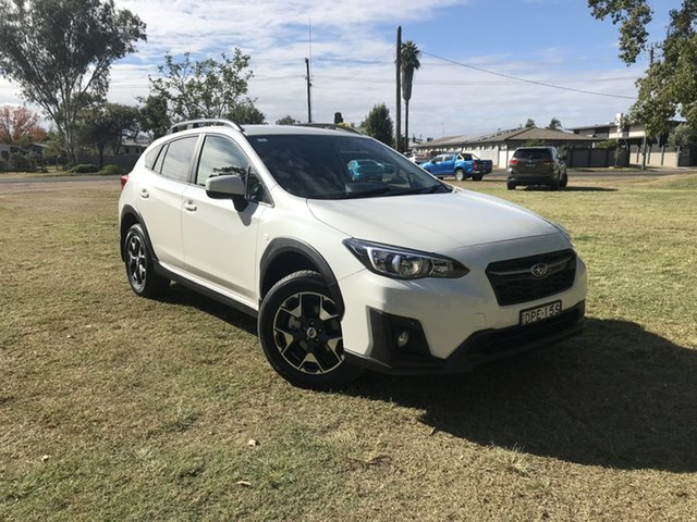 Pre-Owned Subaru XV G5X MY18 2.0i Lineartronic AWD Moree, 2018 Subaru XV G5X MY18 2.0i Lineartronic AWD Crystal Pearl 7 Speed Constant Variable Wagon