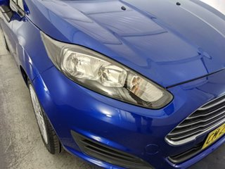 2014 Ford Fiesta WZ Ambiente Blue 5 Speed Manual Hatchback.