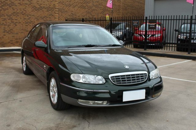 Used Holden Statesman WH V6 Hoppers Crossing, 2000 Holden Statesman WH V6 Green 4 Speed Automatic Sedan