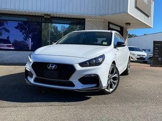 2020 Hyundai i30 PD.3 MY20 N Line D-CT Polar White 7 Speed Sports Automatic Dual Clutch Hatchback.