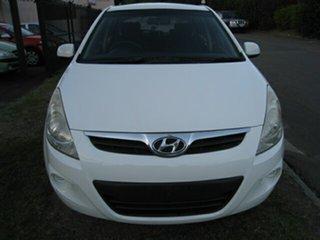 2012 Hyundai i20 PB MY12.5 Active White 4 Speed Automatic Hatchback.