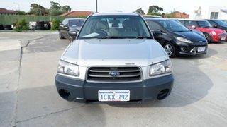 2003 Subaru Forester 79V MY04 X AWD Silver 4 Speed Automatic Wagon.