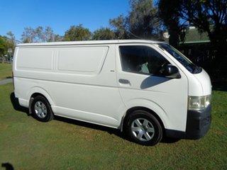 2008 Toyota HiAce TRH201R MY08 LWB White 4 Speed Automatic Van.