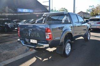 2014 Toyota Hilux KUN26R MY12 SR5 (4x4) Grey 5 Speed Manual Dual Cab Pick-up.