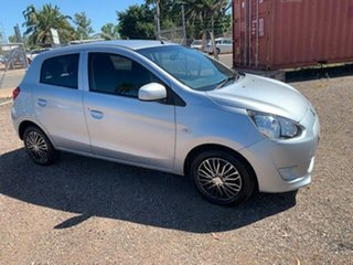 2014 Mitsubishi Mirage Silver 4 Speed Auto Active Select Hatchback
