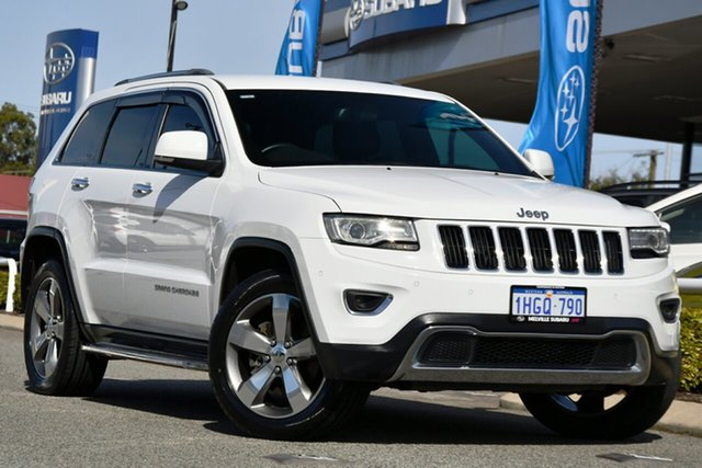 Used Jeep Grand Cherokee WK MY2014 Limited Melville, 2013 Jeep Grand Cherokee WK MY2014 Limited White 8 Speed Sports Automatic Wagon
