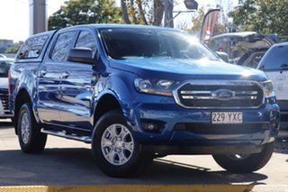 2019 Ford Ranger PX MkIII 2019.00MY XLS Blue 6 Speed Sports Automatic Double Cab Pick Up.
