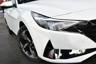 2021 Hyundai i30 CN7.V1 MY21 Active White 6 Speed Sports Automatic Sedan.