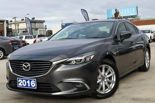 2016 Mazda 6 GL1031 Touring SKYACTIV-Drive Grey 6 Speed Sports Automatic Sedan.