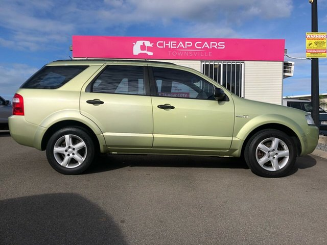Used Ford Territory SY TS AWD Garbutt, 2005 Ford Territory SY TS AWD Green 6 Speed Sports Automatic Wagon