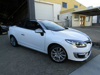 2015 Renault Megane III E95 Phase 2 GT-Line Cpe Cabrio Pearl White 6 Speed Constant Variable.