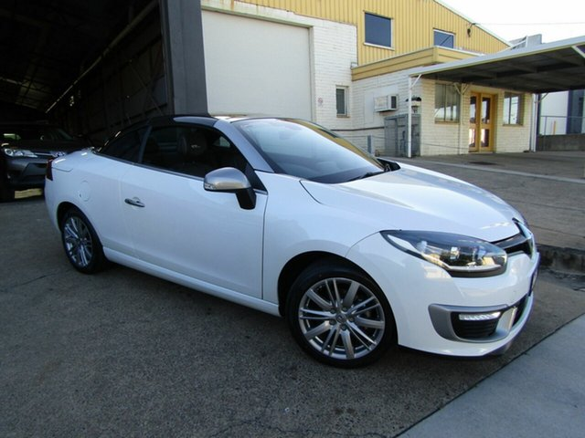 Used Renault Megane III E95 Phase 2 GT-Line Cpe Cabrio Moorooka, 2015 Renault Megane III E95 Phase 2 GT-Line Cpe Cabrio Pearl White 6 Speed Constant Variable