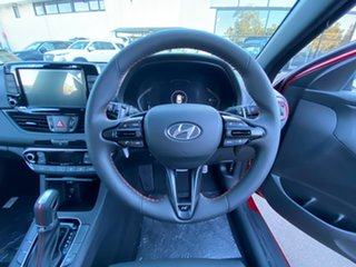 2021 Hyundai i30 PD.V4 MY21 N Line D-CT Fiery Red 7 Speed Sports Automatic Dual Clutch Hatchback