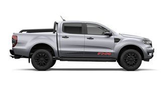 2021 Ford Ranger PX MkIII MY21.25 FX4 2.0 (4x4) Aluminium Silver 10 Speed Automatic