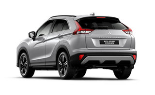 2021 Mitsubishi Eclipse Cross YB MY21 LS 2WD Sterling Silver 8 Speed Constant Variable Wagon.