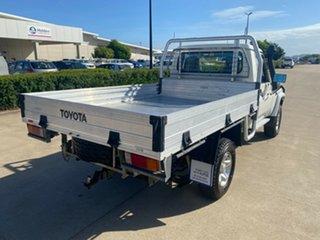 2018 Toyota Landcruiser VDJ79R GXL White/180718 5 Speed Manual Cab Chassis.