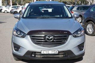 2015 Mazda CX-5 KE1022 Akera SKYACTIV-Drive AWD Silver 6 Speed Sports Automatic Wagon.