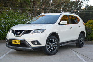 2016 Nissan X-Trail T32 ST-L X-tronic 2WD White 7 Speed Constant Variable Wagon.