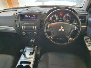 2009 Mitsubishi Pajero NT MY10 RX Gold 5 Speed Sports Automatic Wagon.