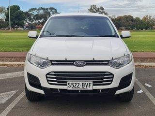 2014 Ford Territory SZ MkII TX Seq Sport Shift AWD White 6 Speed Sports Automatic Wagon.
