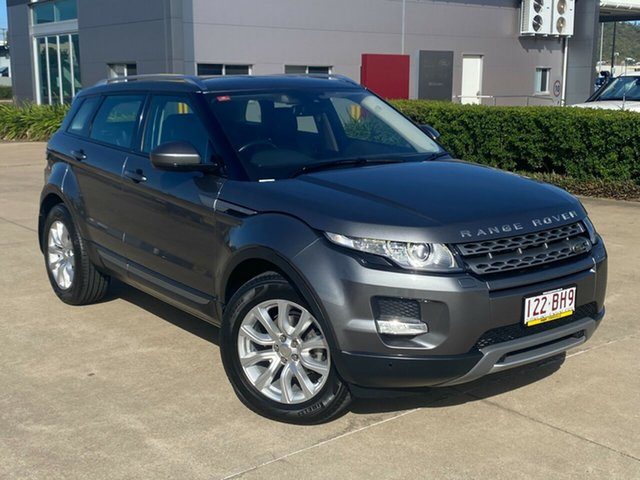 Used Land Rover Range Rover Evoque L538 MY15 Pure Tech Townsville, 2014 Land Rover Range Rover Evoque L538 MY15 Pure Tech Grey/050215 9 Speed Sports Automatic Wagon