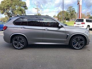 2016 BMW X5 M F85 Steptronic Donnington Grey 8 Speed Sports Automatic Wagon.