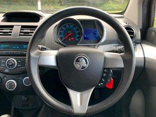 2013 Holden Barina Spark MJ CD Red Automatic Hatchback