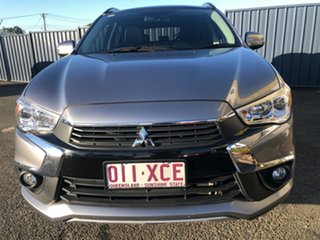 2016 Mitsubishi ASX XC MY17 XLS 2WD Charcoal 6 Speed Constant Variable Wagon