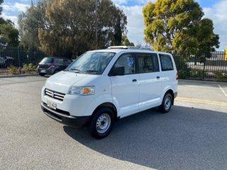 2009 Suzuki APV White 5 Speed Manual Van.