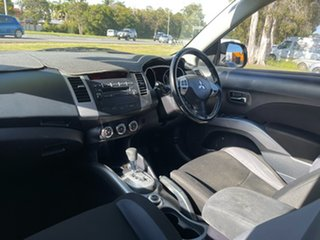 2010 Mitsubishi Outlander ZH MY10 Activ Silver 6 Speed Constant Variable Wagon