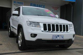 2012 Jeep Grand Cherokee WK MY13 Laredo (4x4) White 5 Speed Automatic Wagon