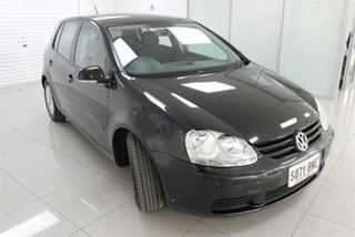 2008 Volkswagen Golf V Edition Black 6 Speed Sports Automatic Hatchback.