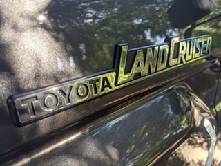 2018 Toyota Landcruiser VDJ79R GXL Double Cab Grey 5 Speed Manual Cab Chassis
