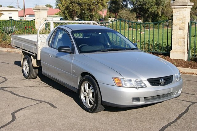 Used Holden Commodore VY II One Tonner Blair Athol, 2004 Holden Commodore VY II One Tonner Silver 4 Speed Automatic Cab Chassis