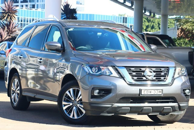 Used Nissan Pathfinder R52 MY19 Series III ST-L (2WD) Zetland, 2019 Nissan Pathfinder R52 MY19 Series III ST-L (2WD) Gun Metallic Continuous Variable Wagon