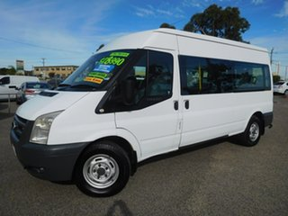 2008 Ford Transit VM Mid Roof White 6 Speed Manual Bus.